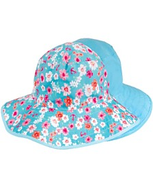 Banz Baby Girls Reversible Bucket Hat