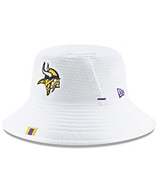 New Era Minnesota Vikings Training Bucket Hat