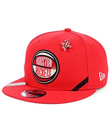Houston Rockets On-Court Collection 9FIFTY Cap
