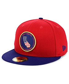 New Era Los Angeles Angels Stately 59FIFTY Fitted Cap