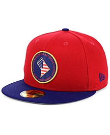 Washington Nationals Stately 59FIFTY Fitted Cap