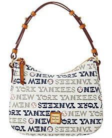 New York Yankees Small Kiley Hobo Bag