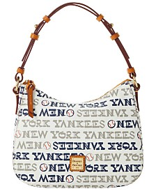 Dooney & Bourke New York Yankees Small Kiley Hobo Bag