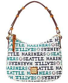 Dooney & Bourke Seattle Mariners Small Kiley Hobo Bag