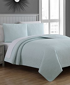 Estate Fenwick King 3 Piece Quilt Set