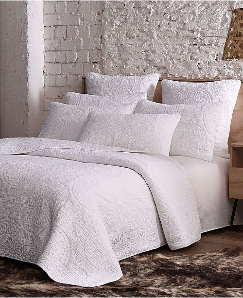 American Home Fashion Estate Avani 3 Piece Quilt Set Full/Queen
