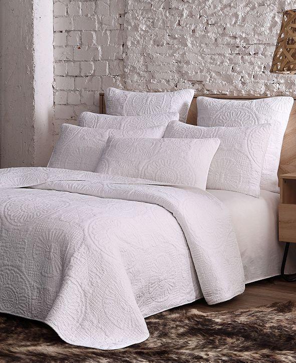American Home Fashion Estate Avani 3 Piece Quilt Set Full/Queen