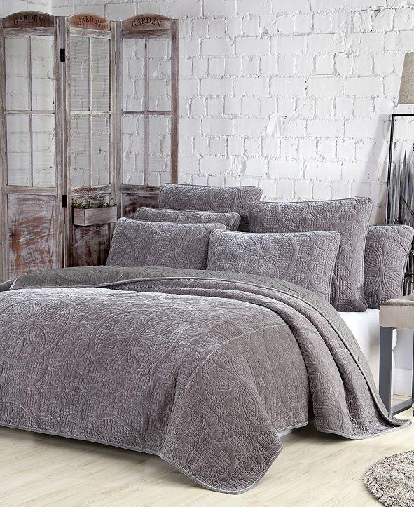 American Home Fashion Estate Joanna 3 Piece Quilt Set, Full/Queen