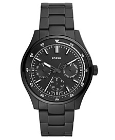 Men's Belmar Black Stainless Steel Bracelet Watch 44mm