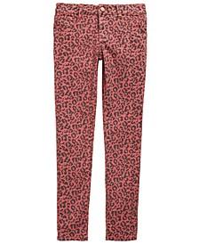 Big Girls Animal-Print Jeans