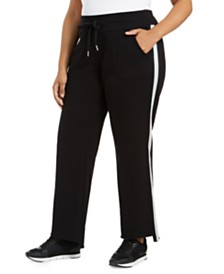Calvin Klein Plus Size Track Pants