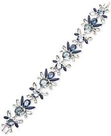 Givenchy Crystal Flower Statement Bracelet
