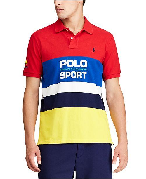 3bb7597f Men's Classic Fit US Open Mesh Polo Shirt