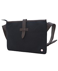 Waxed Sterling Shoulder Bag