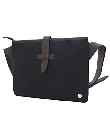 Token Waxed Sterling Shoulder Bag
