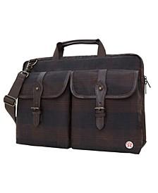 """Waxed Knickerbocker 15"""" Laptop Bag"""