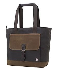 Waxed Montague Tote Bag