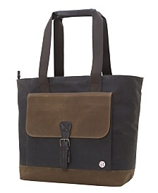 Token Waxed Montague Tote Bag