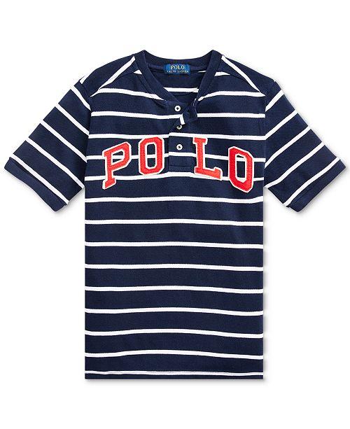 Polo Ralph Lauren Big Boys Henley T-Shirt