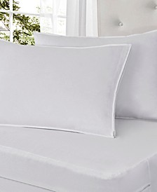 Cotton Rich 2-Pack Pillow Protectors with Bed Bug Blocker