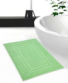 Feather and Stitch 2-Pc. Cotton Bath Mat Set