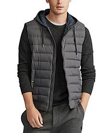 Men's Double-Knit Hooded Vest