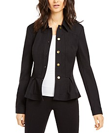 INC Petite Peplum Jacket, Created for Macy's