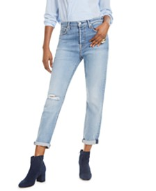 7 For All Mankind High Waist Josefina Boyfriend Jeans