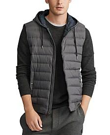 Polo Ralph Lauren Men's Big & Tall Double-Knit Hooded Vest