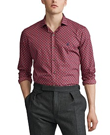 Polo Ralph Lauren Men's Classic Fit Geo-Print Shirt