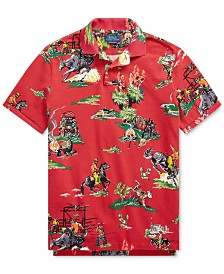 Polo Ralph Lauren Men's Basic Mesh Knit Polo Shirt