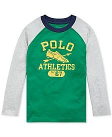 Polo Ralph Lauren Toddler Boys Basic Jersey Baseball T-Shirt