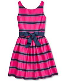 Big Girls Cotton Cricket Dress