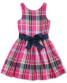 Polo Ralph Lauren Little Girls Cotton Plaid Dress