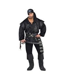 Amscan Dark Sea Scoundrel Adult Men's Costume - Plus Size