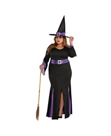 Amscan Witchy Witch Adult Women's Costume - Plus Size