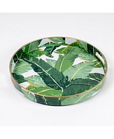 8 Oak Lane Botanical Round Tray
