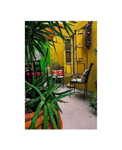 "CHRISTOPHER KNIGHT COLLECTION - The Yellow Porch Canvas Art, 27"" x 36"""