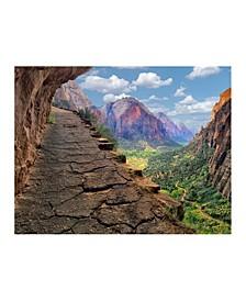 """- Zion National Park Canvas Art, 24"""" x 18"""""""