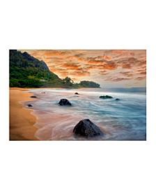 "Collection - Hawaiian Beach Canvas Art, 27"" x 36"""