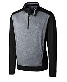 Men's Big & Tall Replay Half Zip Sweatshirt