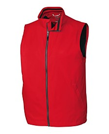 Cutter and Buck Men's Big and Tall Nine Iron Full Zip Vest