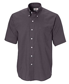 Cutter and Buck Men's Big and Tall Short Sleeves Epic Easy Care Nailshead Shirt