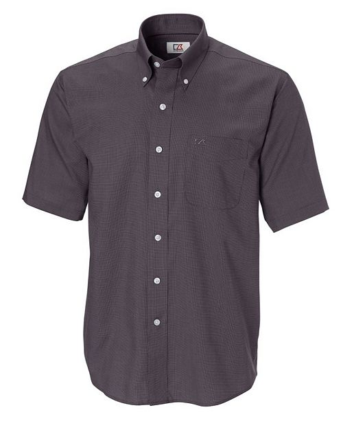 a9c4c3d828c0b4 ... Cutter & Buck Cutter and Buck Men's Big and Tall Short Sleeves Epic  Easy Care Nailshead ...