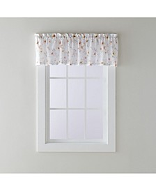 "Blushing Blooms Valance, 58"" X 13"""