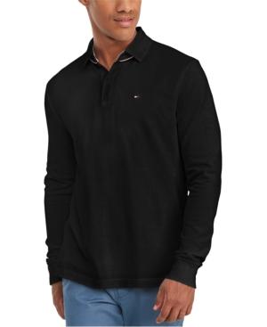 Tommy Hilfiger Men's Kent Long Sleeve Polo Shirt