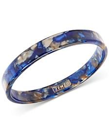 Tortoise-Look Bangle Bracelet