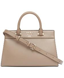 DKNY Ava Leather Satchel, Created for Macy's