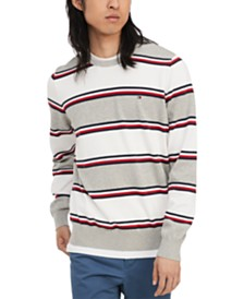 Tommy Hilfiger Men's Alvin Striped Sweater, Created for Macy's