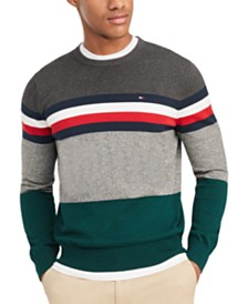 Tommy Hilfiger Men's Signature Knoxville Sweater, Created for Macy's